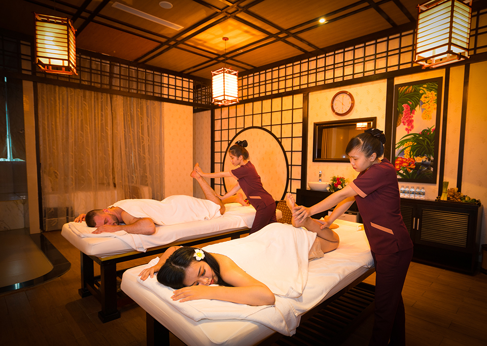 Discount 30% Spa service for in-house guests